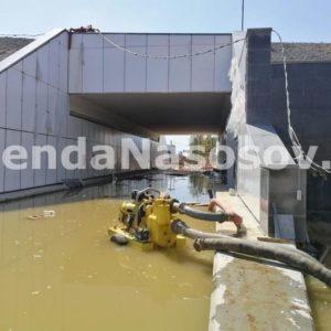Ликвидация затопления на Киевском шоссе