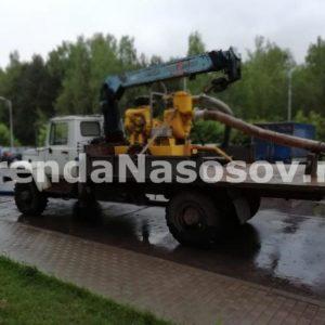 Осушение подтопления в Химках (после)