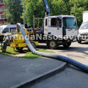 Перекачка канализационных вод