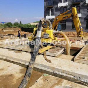Ликвидация подтопления строительной площадки