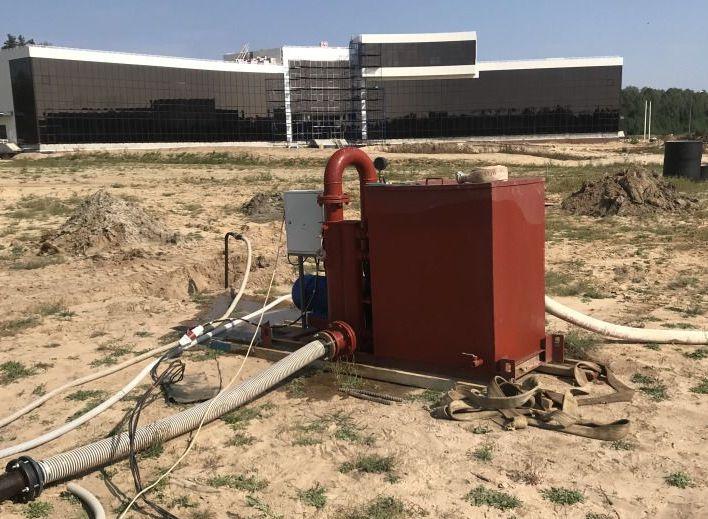 Установка вакуумного водопонижения УВВ